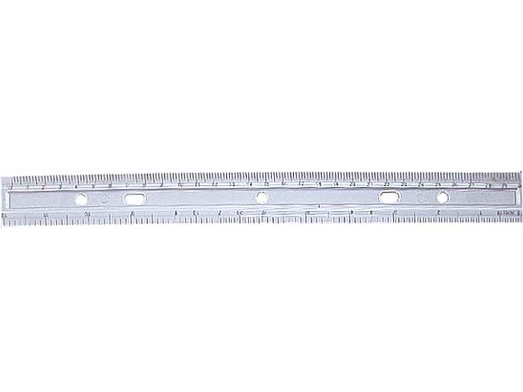 fe1bb4aedd1730 Лінійка 30см пластикова прозора, E81302 ТМ